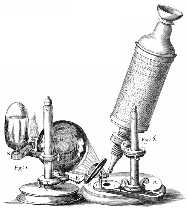 Hooke-microscope