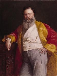 Isaac Merritt Singer (1811-1875) Portrait by Edward Harrison
