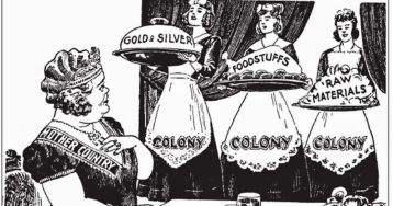 Mercantilism Cartoon