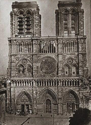 Notre Dame de Paris 1840
